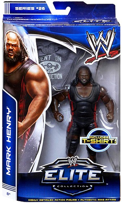 WWE Wrestling Elite Collection Series 26 Mark Henry Action Figure [T-Shirt]