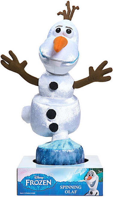 Disney Frozen Spinning Olaf Plush
