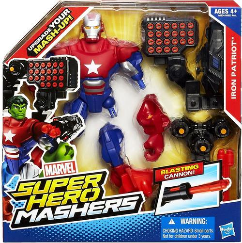 Marvel Super Hero Mashers Battle Upgrade Iron Patriot Action Figure