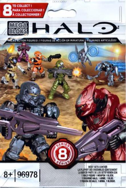 Mega Bloks Halo Series 8 Minifigure Mystery Pack [1 RANDOM Figure]