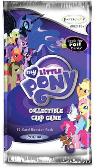My Little Pony Trading Card Game Premiere Booster Pack [12 Cards]