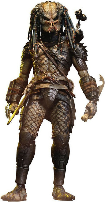 Predator 2 Movie Masterpiece Elder Predator Collectible Figure [2014 Version]