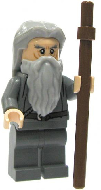 LEGO The Lord of the Rings Gandalf Minifigure [No Hat or Cloak Loose]