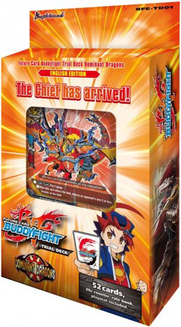 Future Card BuddyFight Trading Card Game Dominant Dragons Trial Deck BFE-TD01