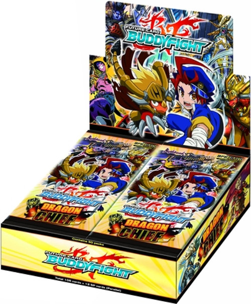 Future Card BuddyFight Trading Card Game Dragon Chief Booster Box BFE-BT01 [30 Packs]