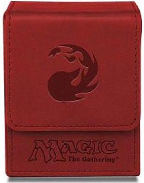 Ultra Pro MtG Trading Card Game Premium Flip Red Mana Symbol Deck Box