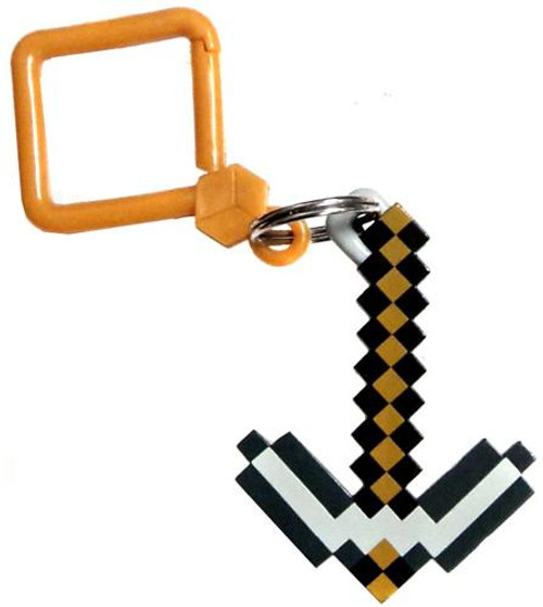 Minecraft Hangers Series 1 Stone Pickaxe 3-Inch Keychain [Loose]