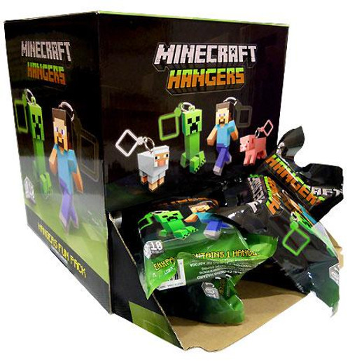 Minecraft Hangers Series 1 Mystery Box [24 Packs]
