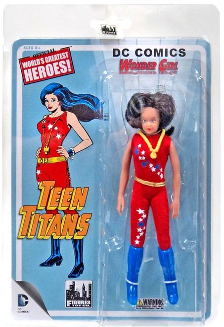Teen Titans Retro Series 1 Wonder Girl Action Figure