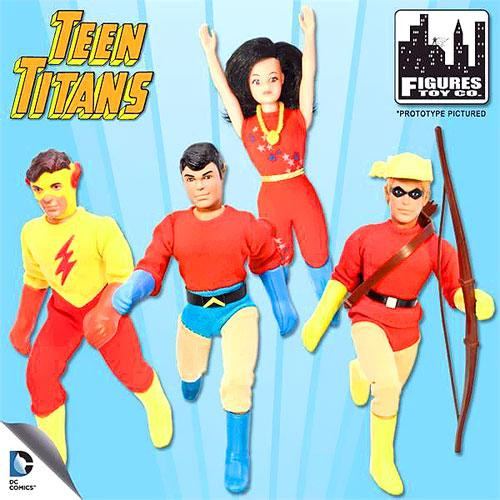 Teen Titans Retro Series 1 Action Figures