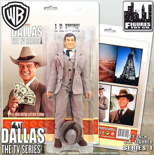 Dallas J.R. Ewing Deluxe Action Figure [Oil Tycoon]