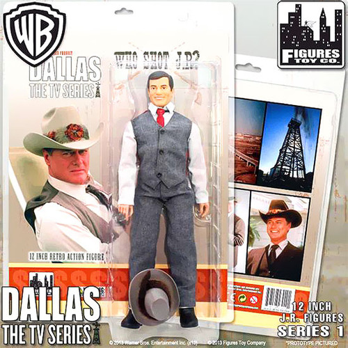Dallas Series 1 J.R. Ewing Deluxe Action Figure [Who Shot J.R.?]