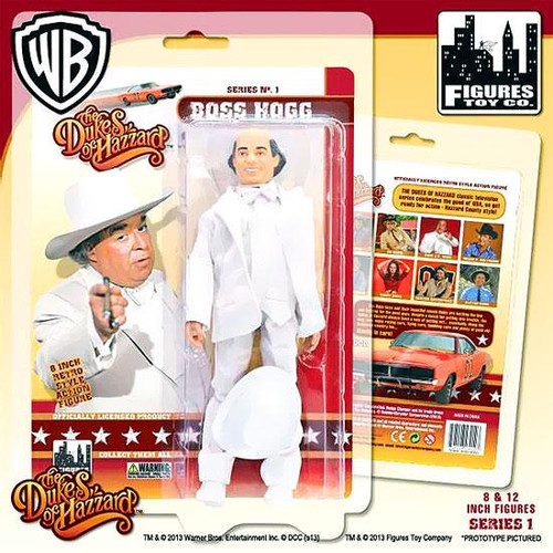 The Dukes of Hazzard Boss Hogg Action Figure
