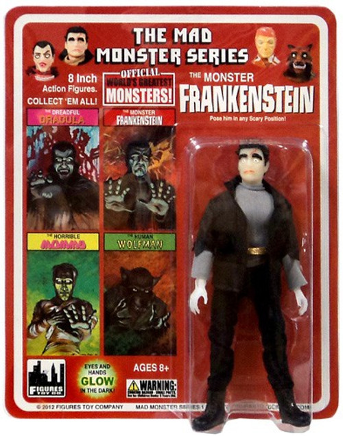 The Mad Monster Series The Monster Frankenstein Action Figure