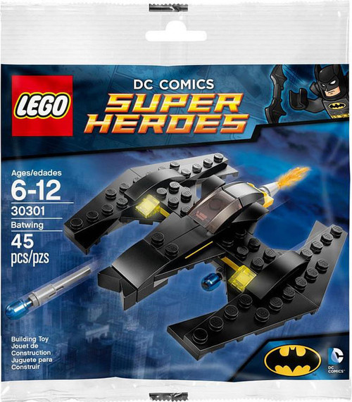 LEGO DC Universe Super Heroes The Batwing Mini Set #30301 [Bagged]