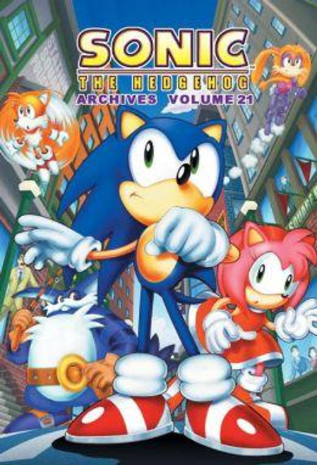 Sonic The Hedgehog Archives Volume 21 Trade Paperback