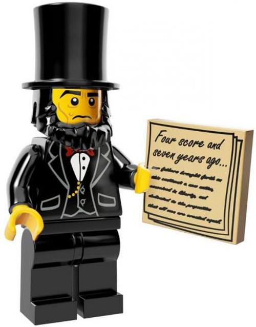The LEGO Movie Abraham Lincoln Minifigure [Loose]