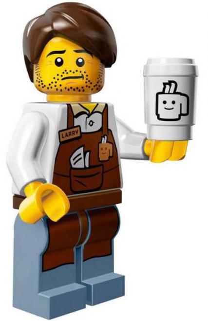 The LEGO Movie Larry the Barista Minifigure [Loose]