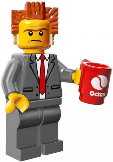 The LEGO Movie President Business Minifigure [with Mug Loose]