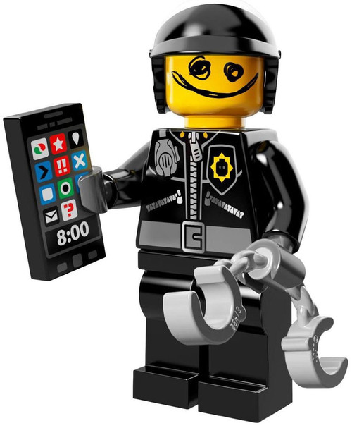 The LEGO Movie Good Cop / Bad Cop Minifigure [Loose]