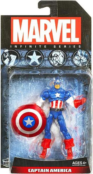 Marvel Avengers Infinite Series 1 Captain America Action Figure