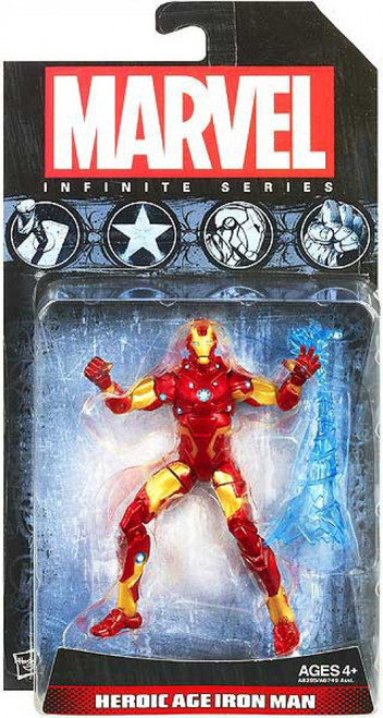 Marvel Avengers Infinite Series 1 Heroic Age Iron Man Action Figure