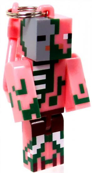 Minecraft Hangers Series 1 Zombie Pigman 3-Inch Keychain [Loose]