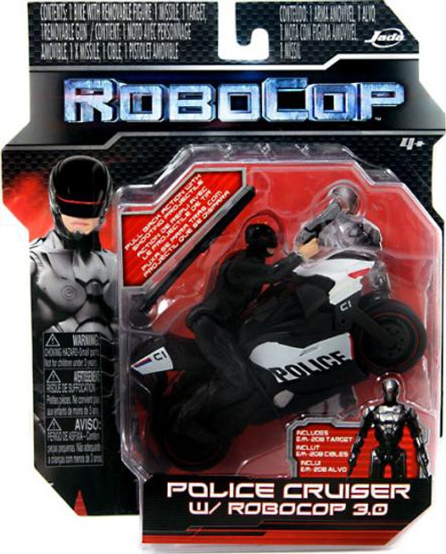 Police Cruiser with Robocop 2.0 Figure 4-Inch