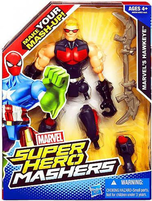Marvel Super Hero Mashers Hawkeye Action Figure