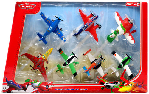 Disney Planes Wings Around the Globe Exclusive Diecast Plane 7-Pack [Set #1]