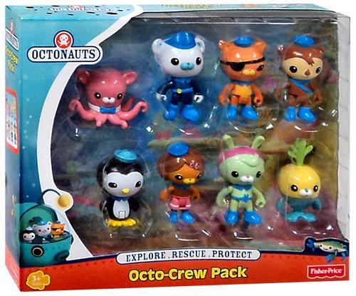 Fisher Price Octonauts Octo-Crew 8-Pack Figure Set