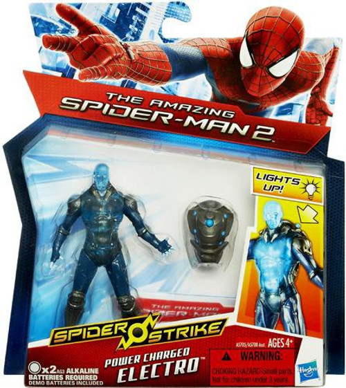 The Amazing Spider-Man 2 Spider Strike Power Charged Electro Action Figure