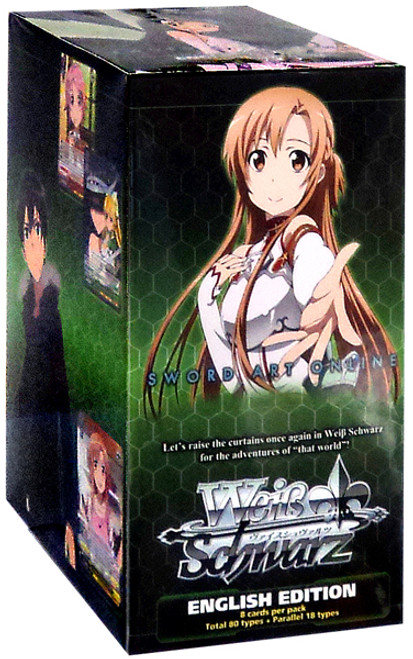 Weiss Schwarz Sword Art Online Vol. 2 Booster Box [20 Packs]
