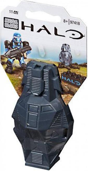 Mega Bloks Halo Metallic ODST Drop Pod Set #97418 [Blue UNSC]