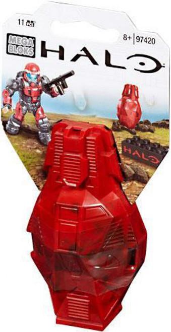 Mega Bloks Halo Metallic ODST Drop Pod Set #97420 [Red UNSC]