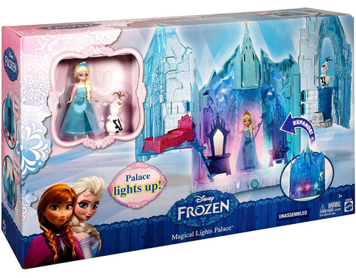 Disney Frozen Magical Lights Palace Playset