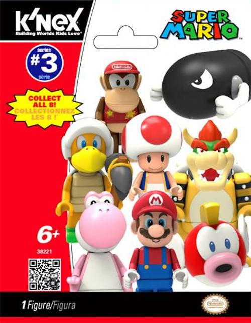 K'NEX Super Mario Series 3 Mystery Pack #38221 [1 RANDOM Figure]