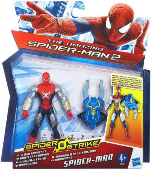The Amazing Spider-Man 2 Spider Strike Slash Gauntlet Spider-Man Action Figure