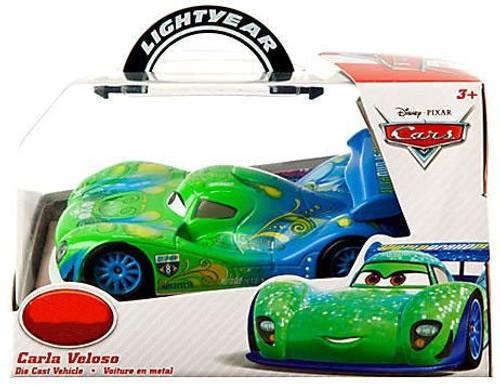 Disney / Pixar Cars 1:43 Lightyear Carla Veloso Exclusive Diecast Car