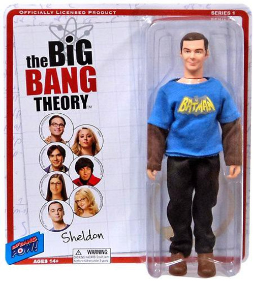 The Big Bang Theory Retro Style Sheldon Action Figure