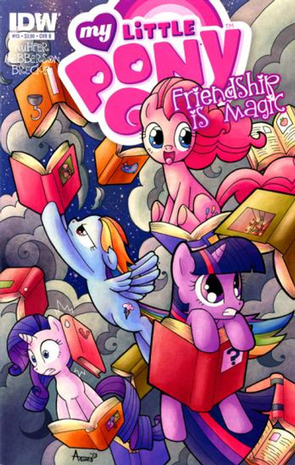 My Little Pony Friendship is Magic #15 Comic Book [Cover B]