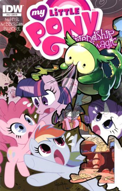 My Little Pony Friendship is Magic #15 Comic Book [Retailer Incentive]