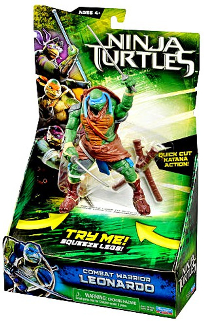 Teenage Mutant Ninja Turtles 2014 Movie Leonardo Action Figure [Combat Warrior]