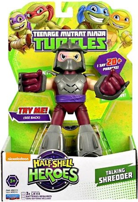 Teenage Mutant Ninja Turtles TMNT Half Shell Heroes Shredder Action Figure [With Sound]