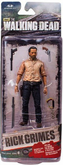 McFarlane Toys The Walking Dead AMC TV Series 6 Rick Grimes Action Figure