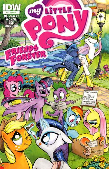 My Little Pony #1 Comic Book [Subscription Cover]