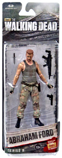 McFarlane Toys The Walking Dead AMC TV Series 6 Abraham Ford Action Figure