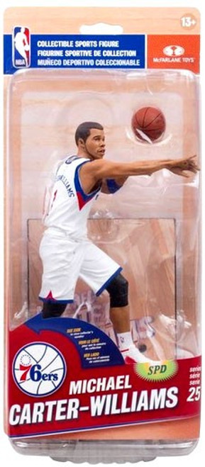 McFarlane Toys NBA Philadelphia 76ers Sports Picks Series 25 Michael Carter-Williams Action Figure