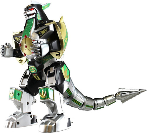 Power Rangers Mighty Morphin Legacy Green Dragonzord Action Figure