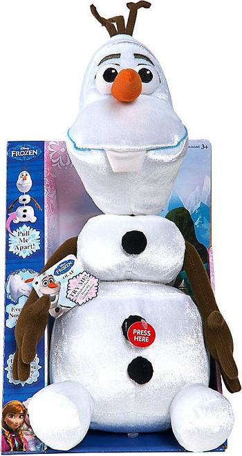 Disney Frozen Pull-Apart Talking Olaf Plush